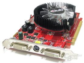 Club3D Radeon HD 2600 XT Slotblech
