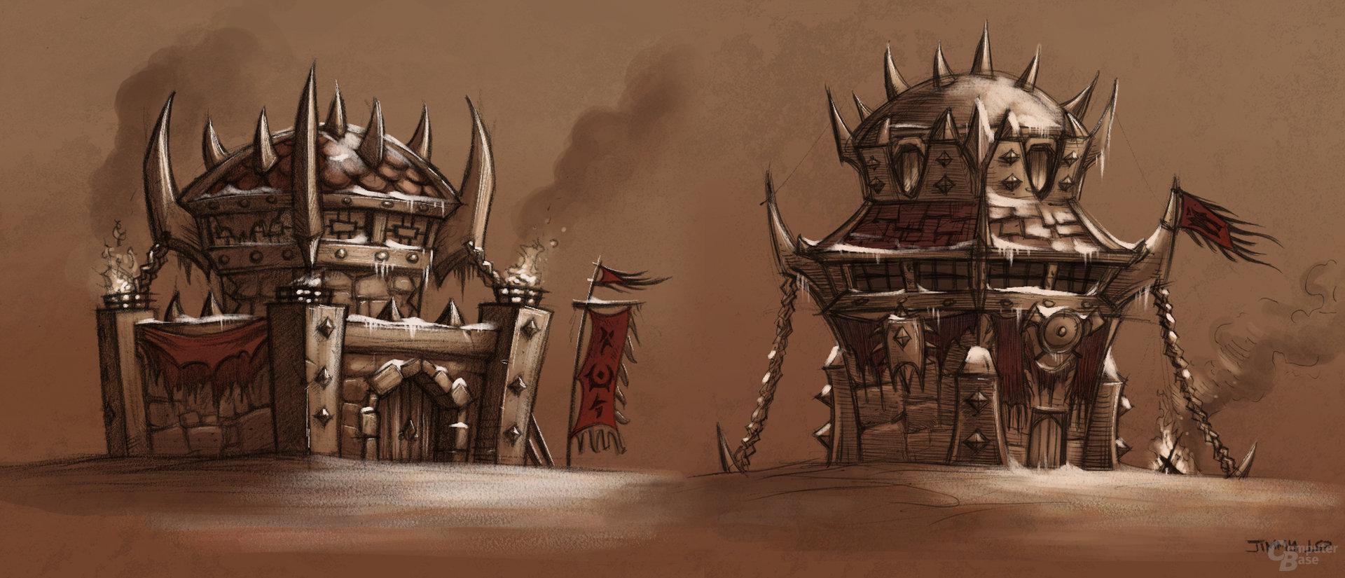 Orc Buildings