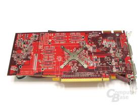 GeCube Radeon HD 2600 XT X-Turbo II Rueckseite