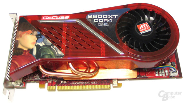 GeCube Radeon HD 2600 XT X-Turbo II
