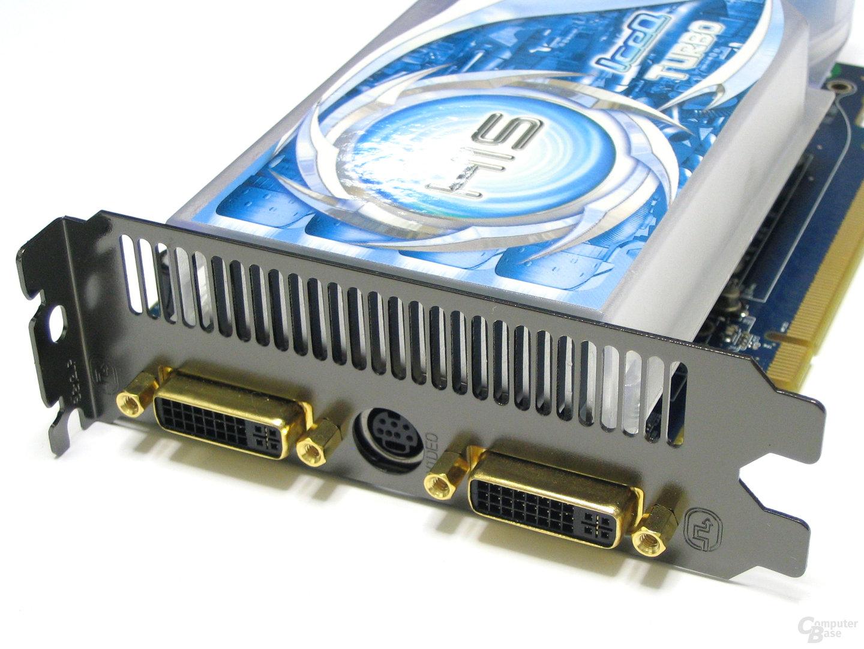 HIS Radeon HD 2600 Pro IceQ Turbo Slotblech