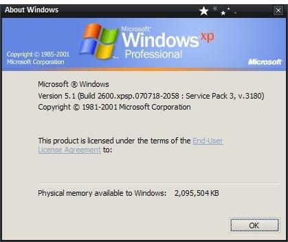 Service Pack 3 für XP