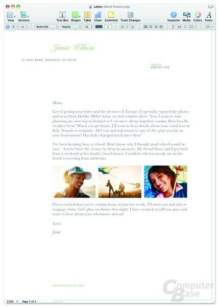 Pages '08 (Textverarbeitung)