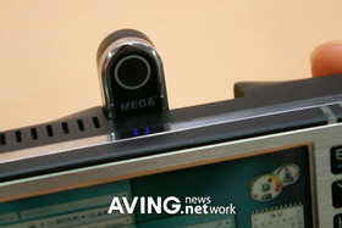Wibrain B1 UMPC – integrierte Kamera
