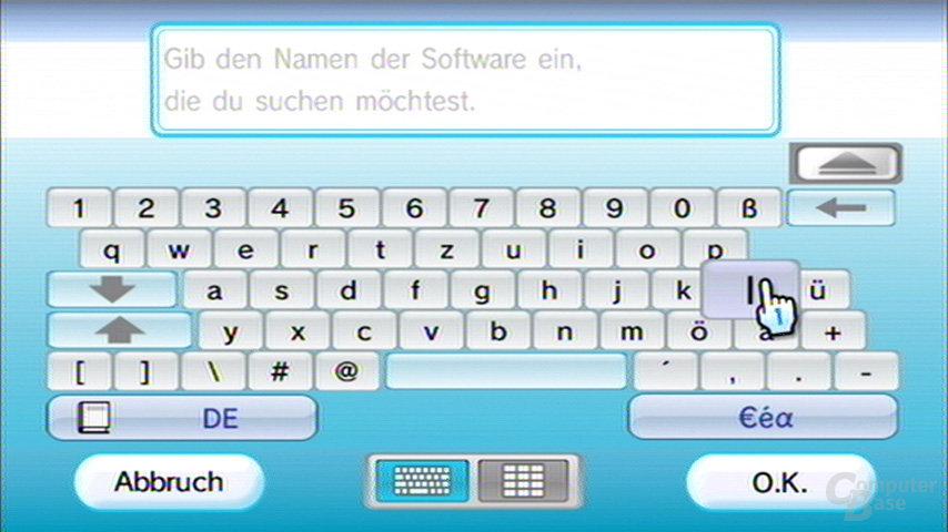 Begriffssuche – jetzt mit USB-Tastatur möglich