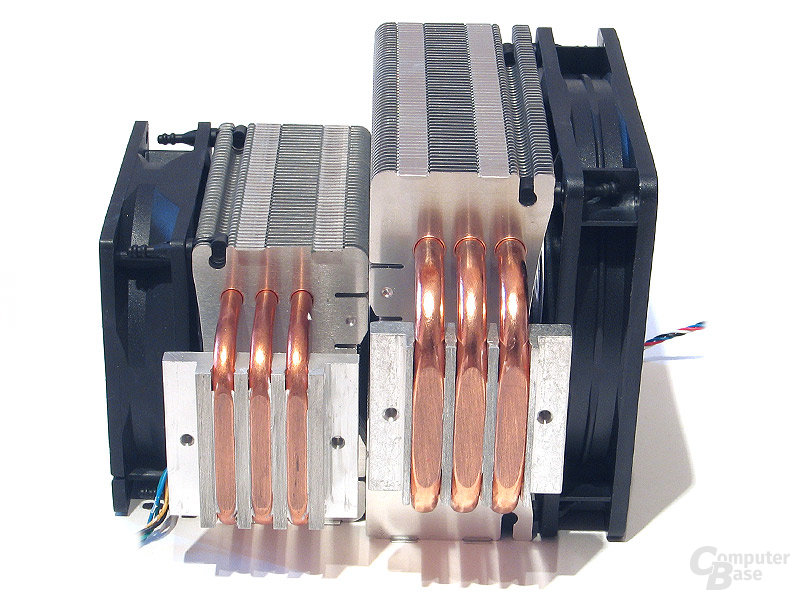 Heatpipe-Direct-Touch mit 8-mm-Heatpipes