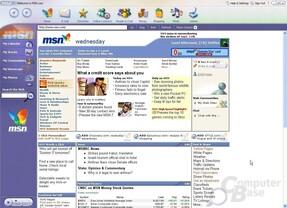 MSN Explorer 7