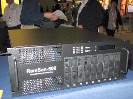 RamSan-500 auf der Siggraph Convention 2007