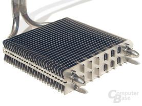 80-mm-Design mit geöffneten Lamellen zur besseren Passivkonvektion