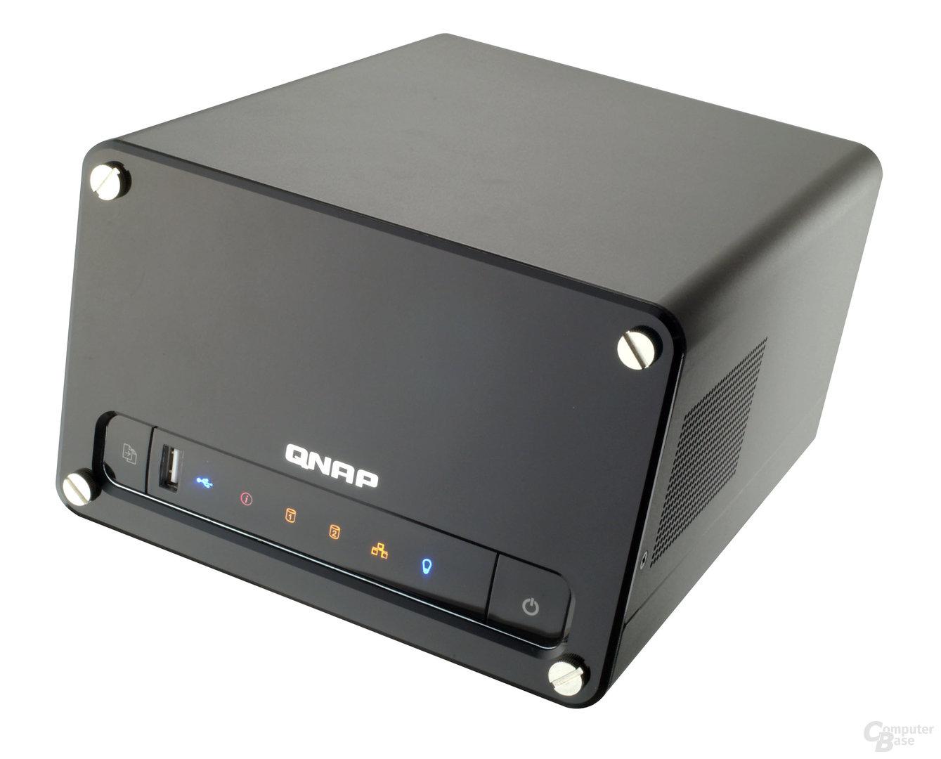 QNAP TS-209  – Dank schnellerer CPU noch leistunsfähiger!