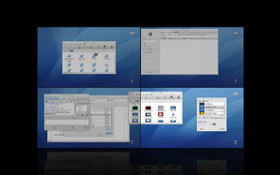 "Compiz ""Desktop Expo"" 1"