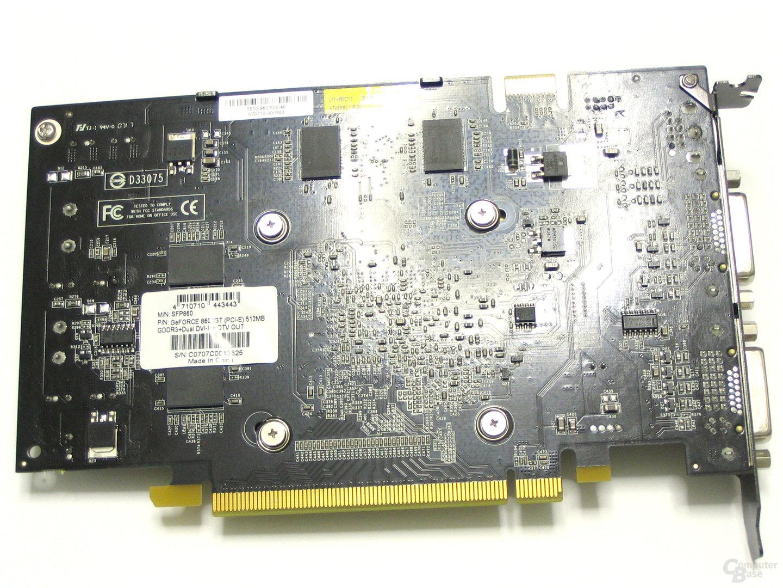 Calibre 8600 GT Rueckseite