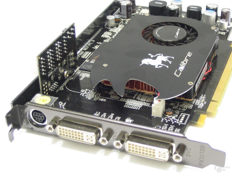 Calibre 8600 GT Slotblech