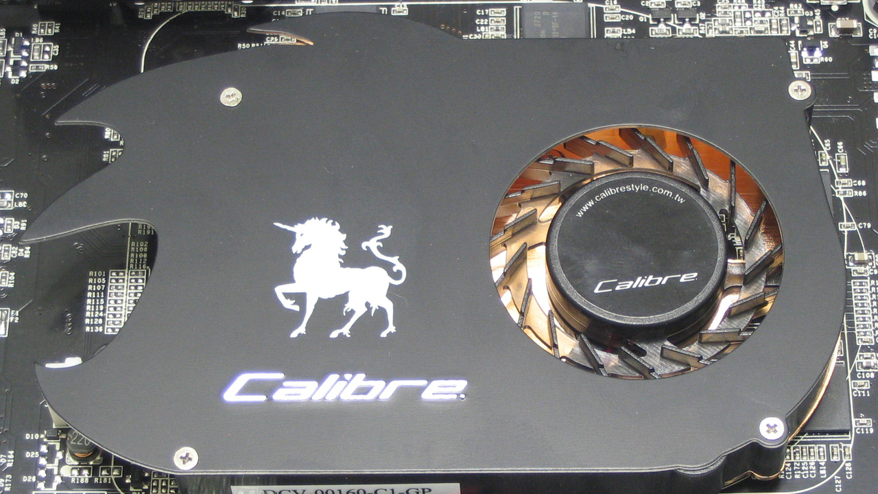 Sparkle Calibre GeForce 8600 GT 512 MB im Test: Ein Sonderling will's wissen