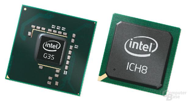 Intel G35 Express Chipset – Bearlake-G+ Produktbild
