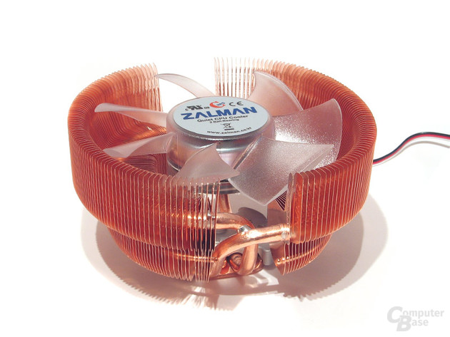 Zalman CNPS 8700 LED – nun auch mit Heatpipes