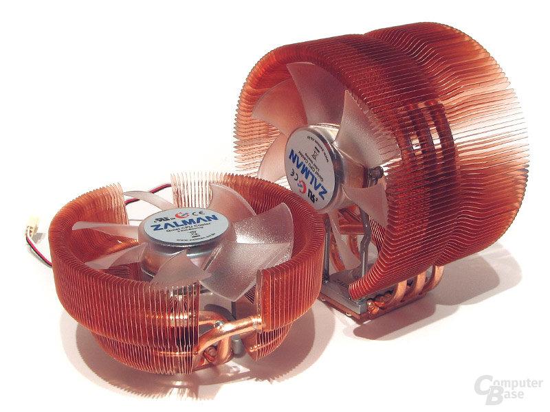 Keine Konkurrenz für den CNPS 9700 – der 8700 ist nur für flache Gehäuse wirklich interessant
