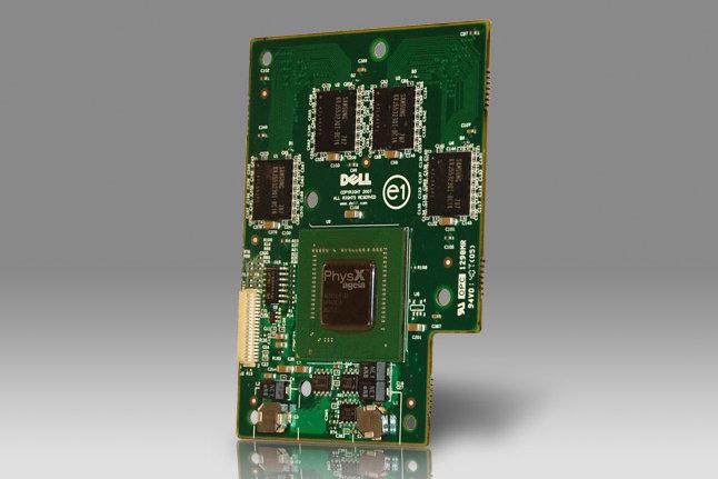 PhysX 100M – Notebookversion der im letzten Jahrvorgestellten PhysX-Karten