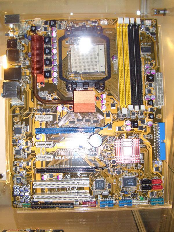 Asus M3A-MVP | Quelle: K-Hardware