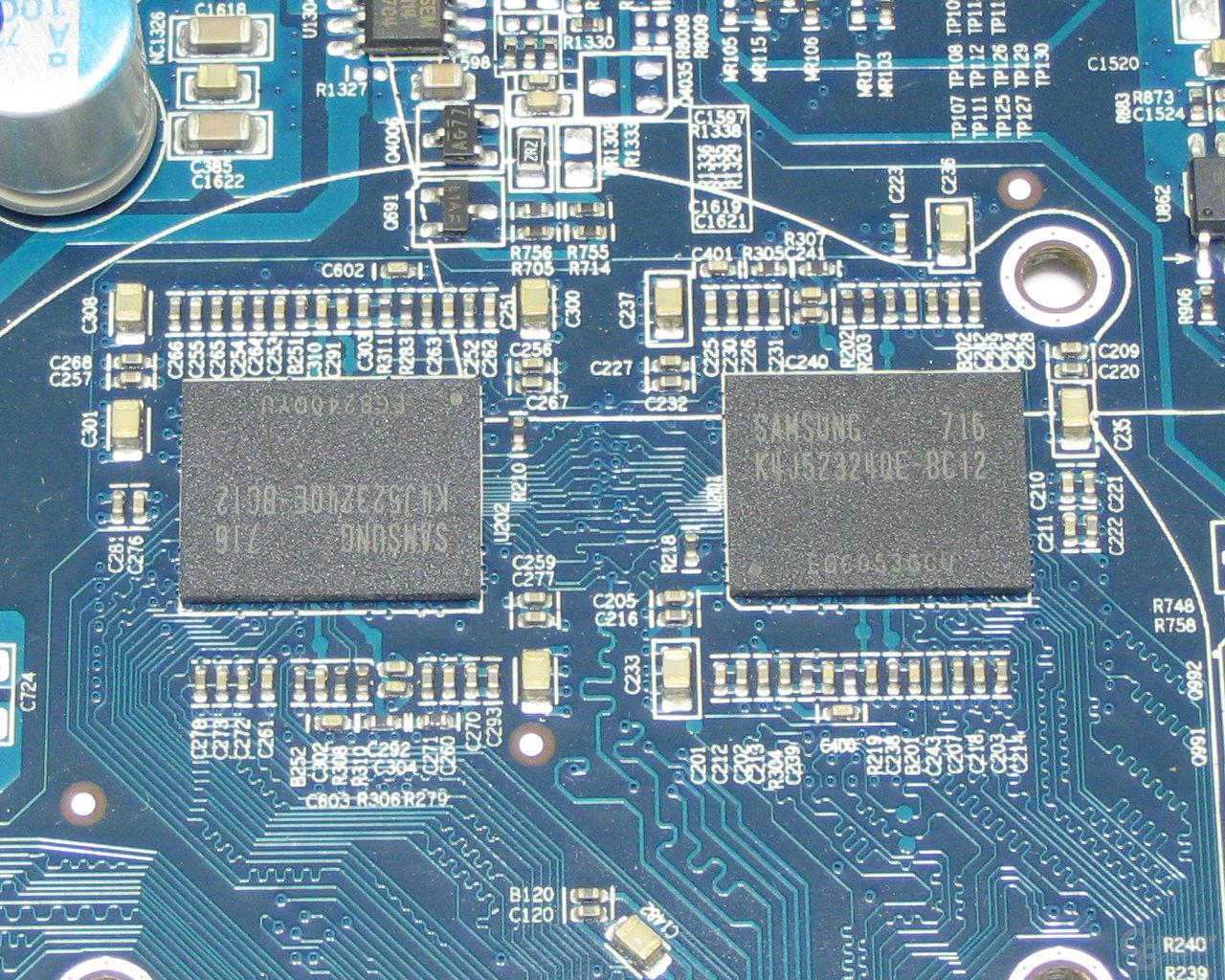 Radeon HD 2600 XT X2 VRAM