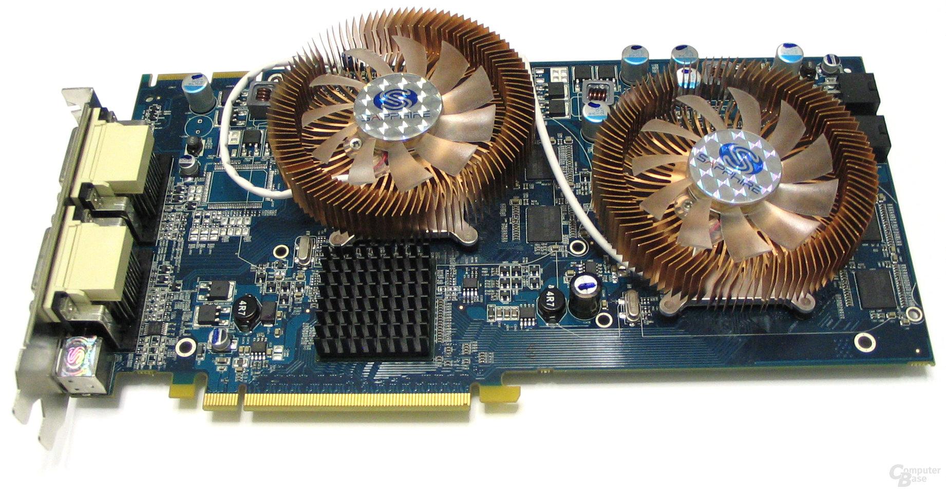 Radeon HD 2600 XT X2 ohne Abdeckung