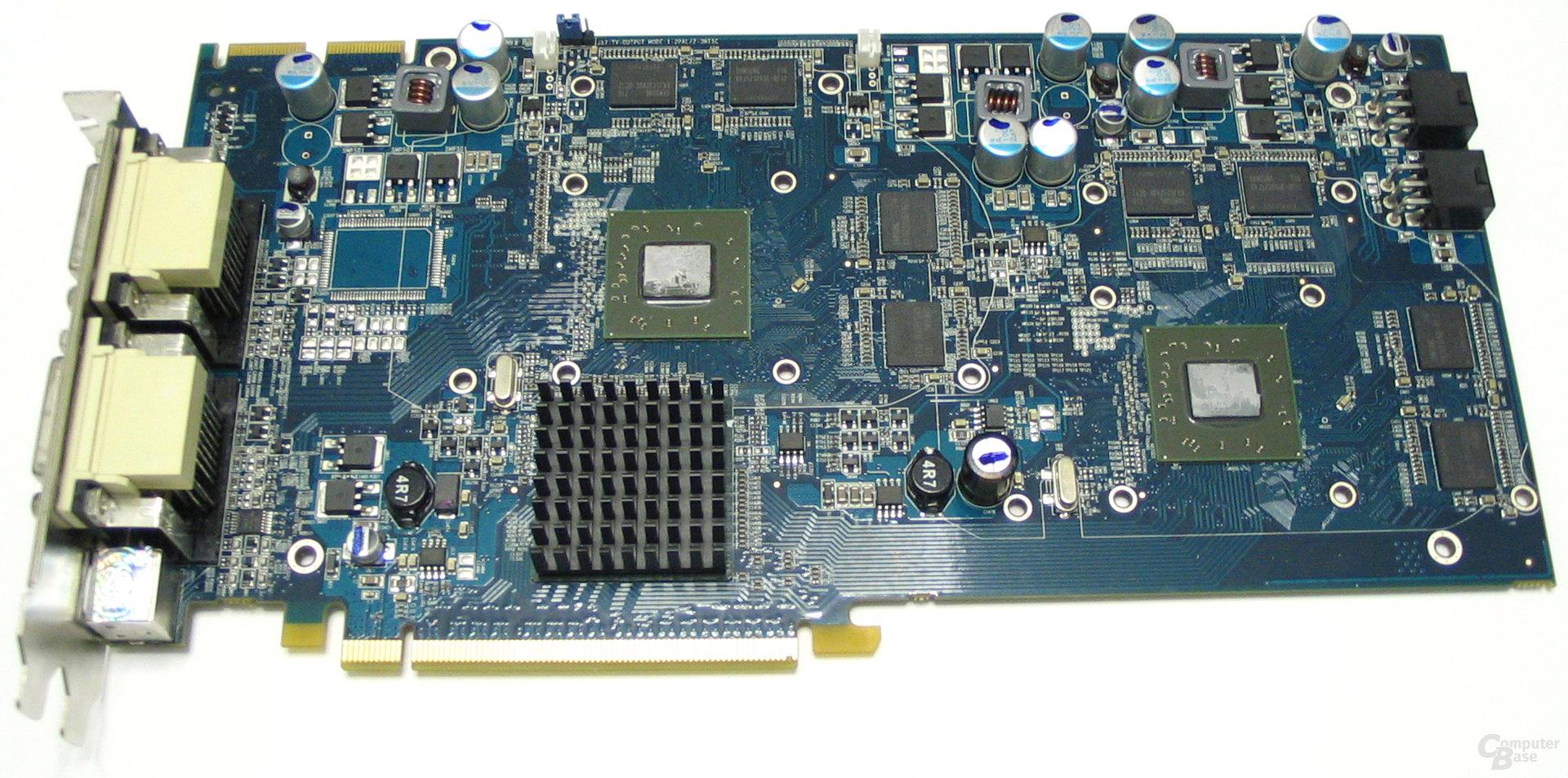 Radeon HD 2600 XT X2 ohne Kuehler