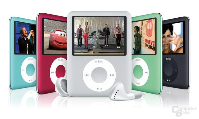Neuer iPod nano