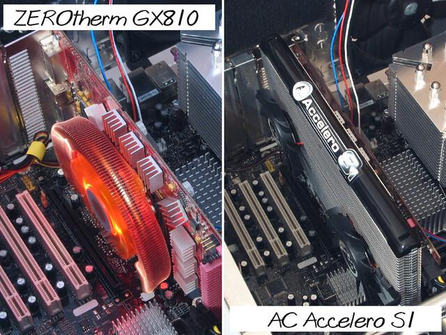 Klarer Leistungssieg für den S1 – der GX810 ist unter Last zu laut