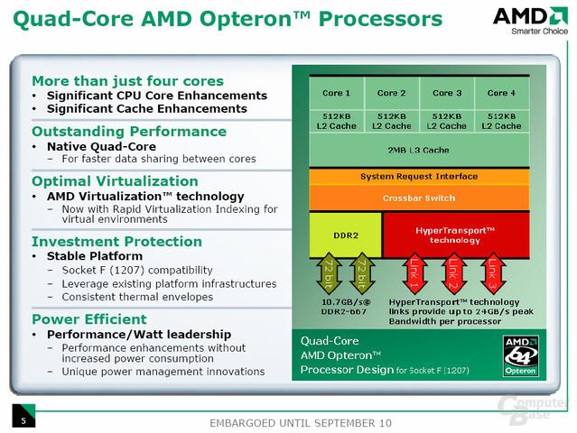 AMD Opteron Quad-Core