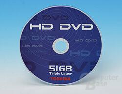 Toshiba HD-DVD mit 51 GB