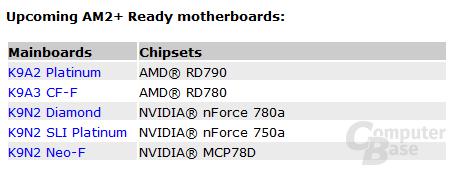 Neue nForce-Chipsätze bei MSI