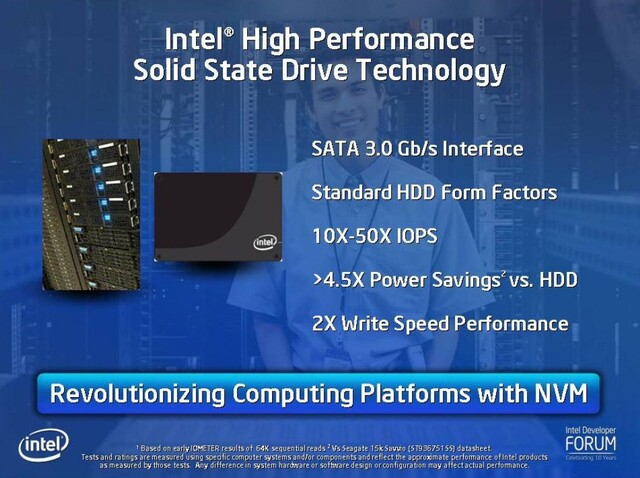 IDF: Intel bringt Highend Solid State Drives