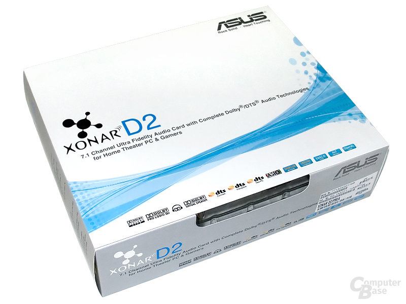 Asus Xonar D2 – Karton
