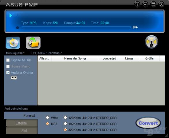 Asus Portable Music Processor