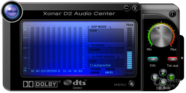 Xonar D2 Audio Center