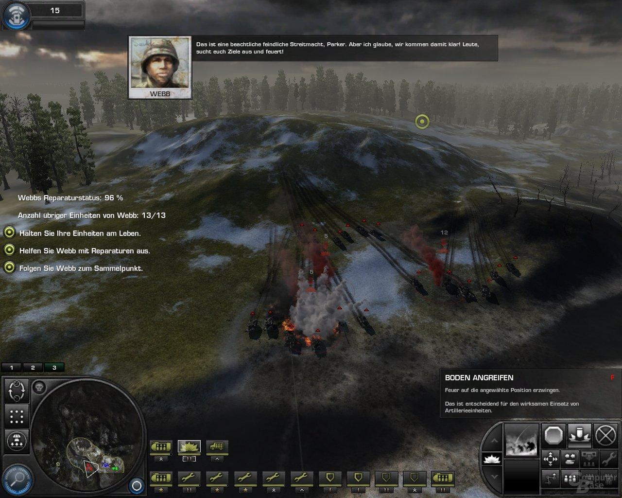WiC – Artilleriebeschuss steht bevor