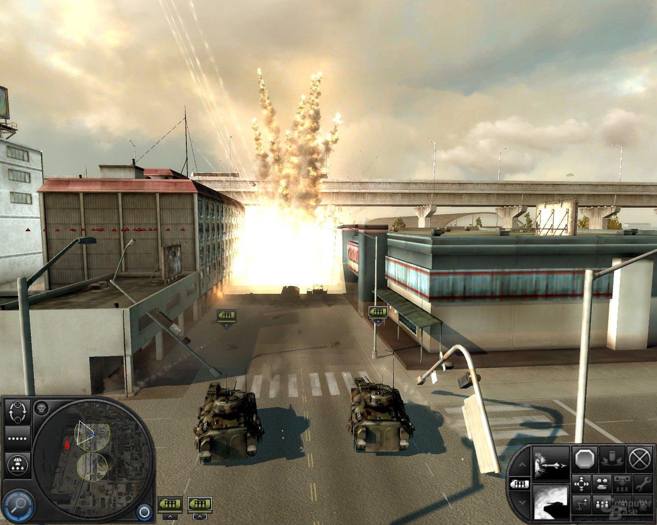 WiC – Artilleriebeschuss