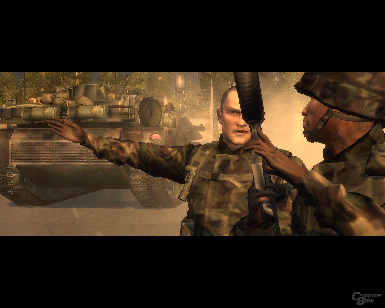 Colonel Sawyer & James Web