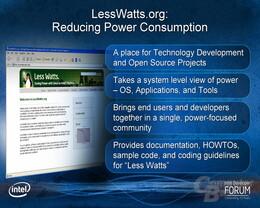 LessWatts.org – Stromverbrauch unter Linux setzen