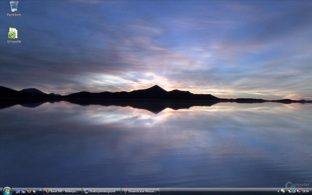 DreamScene Wasser
