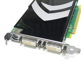 GeForce 8800 GT Slotblech