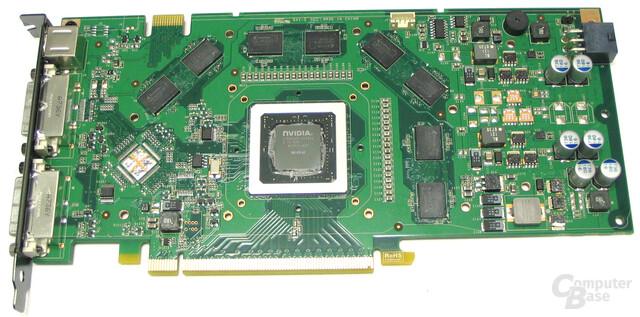 GeForce 8800 GT ohne Kuhler