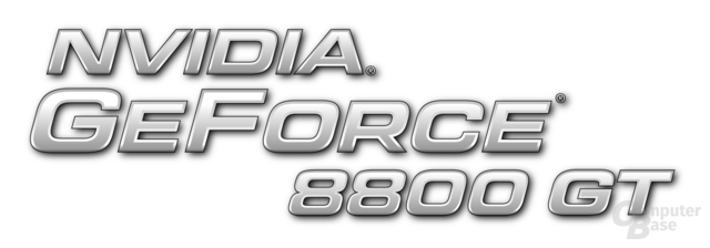 Nvidia GeForce 8800 GT Logo