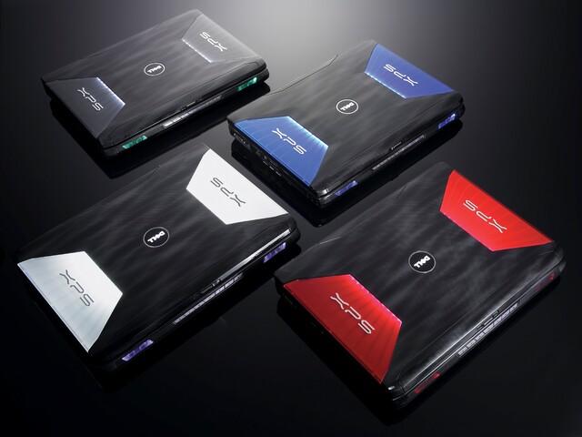 Dell XPS M1730 – verschiedene Farben