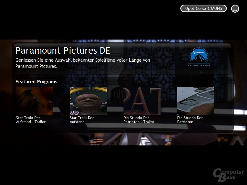 Joost Beta 1.0 komplette Filme von Paramount