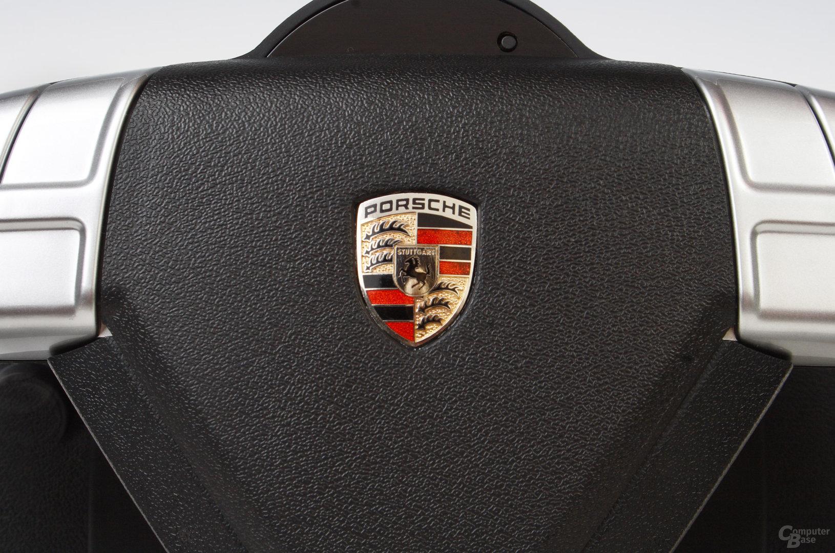 Porsche 911 Turbo S Lenkrad – Detail