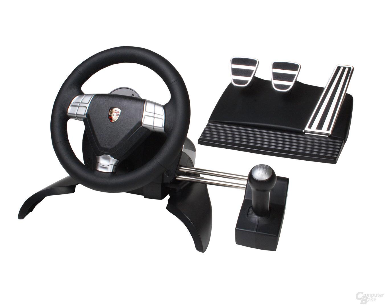 Porsche 911 Turbo S Lenkrad – Komplett