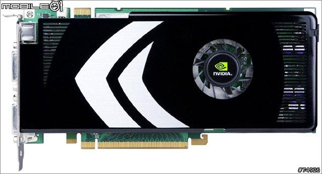 GeForce 8800 GT – Draufsicht