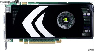 GeForce 8800 GT – Draufsicht
