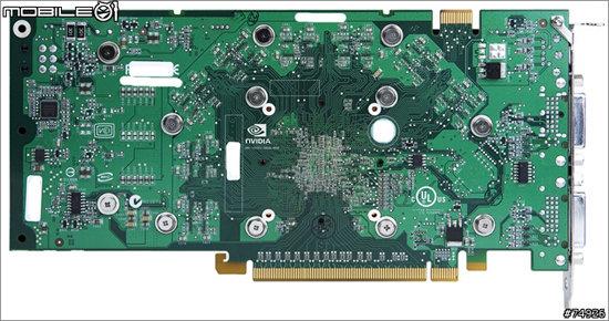 GeForce 8800 GT – Rückseite